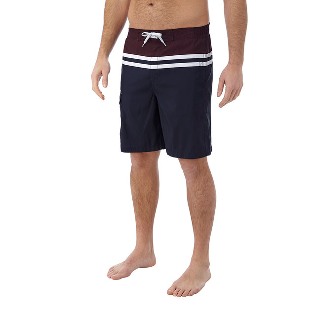 Harrison Mens Boardshorts - Navy/Deep Port image 2