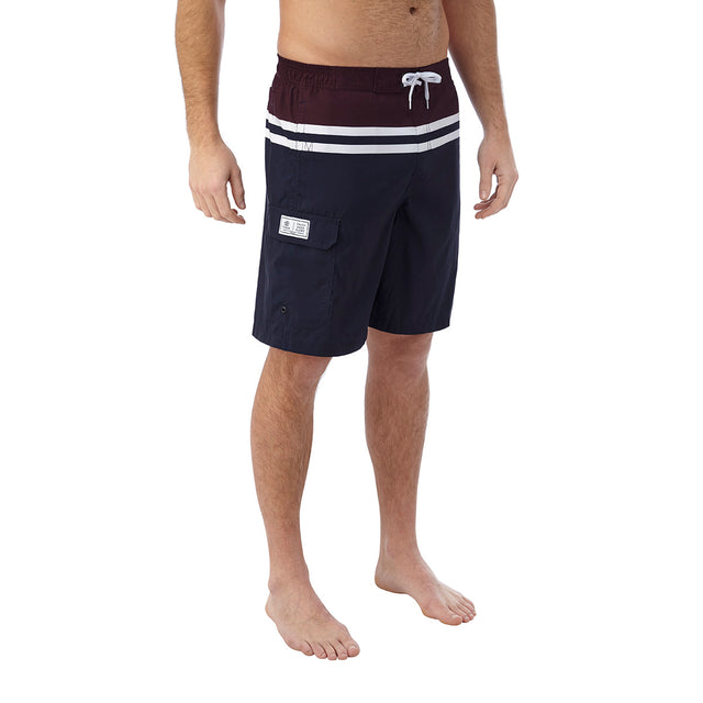Harrison Mens Boardshorts - Navy/Deep Port image 3