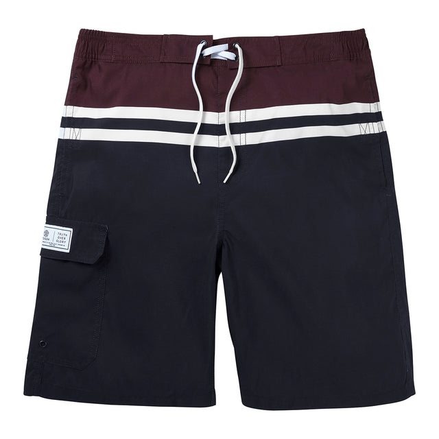 Harrison Mens Boardshorts - Navy/Deep Port image 1