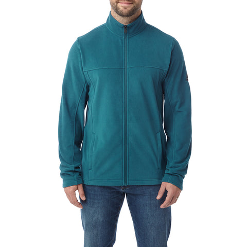 Hecky Mens Fleece Jacket - Lagoon