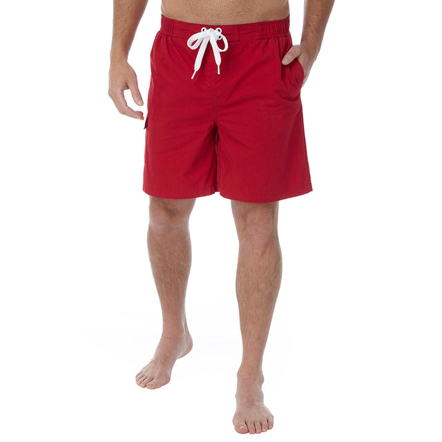 Helier Mens Swimshorts - Chilli image 2