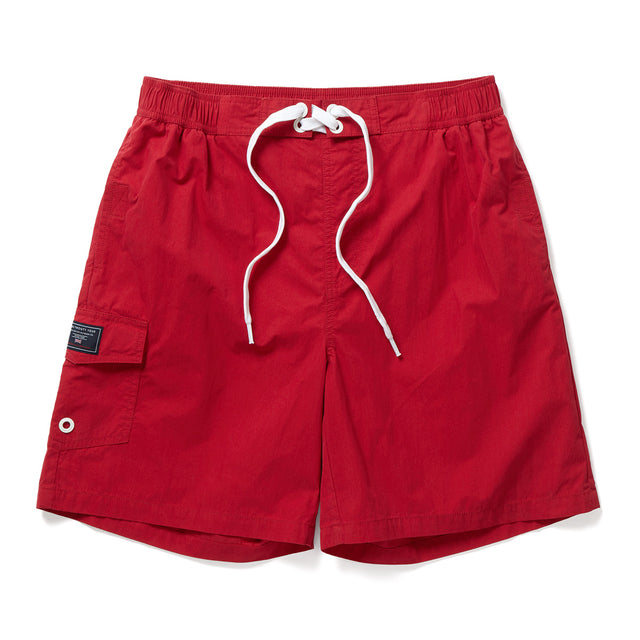 Helier Mens Swimshorts - Chilli image 1