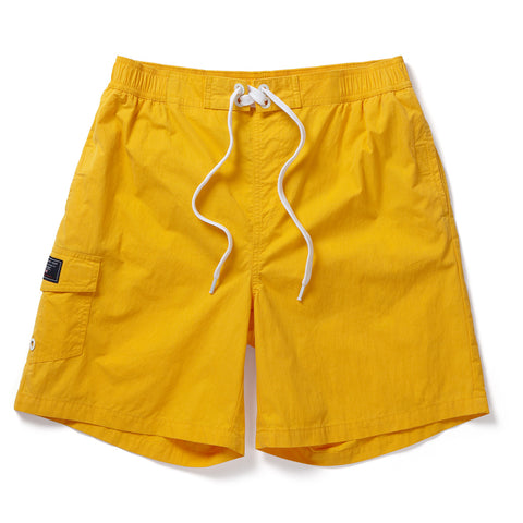 Helier Mens Swimshorts - Citrus