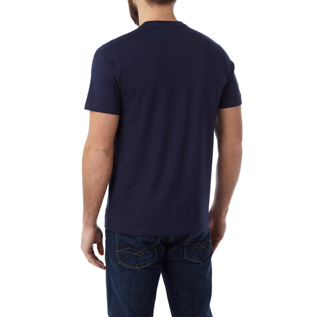 Henry Mens T-Shirt Search Engine - Navy image 3