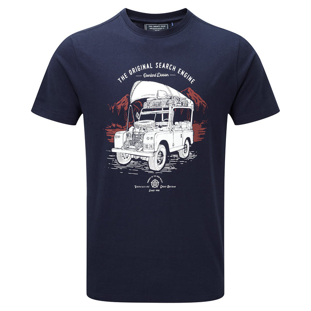 Henry Mens T-Shirt Search Engine - Navy image 1