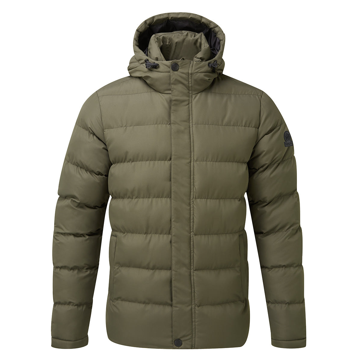 Hexham Mens Long Insulated Jacket - Dark Khaki image 4