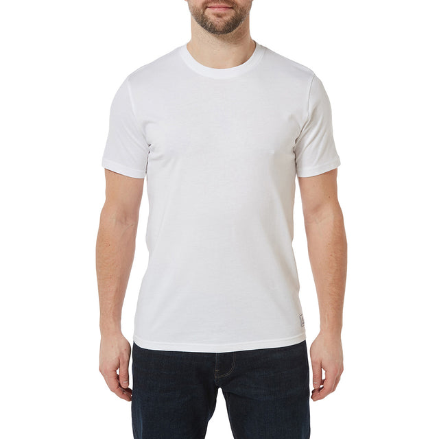 Honley Mens T-Shirt - White image 2