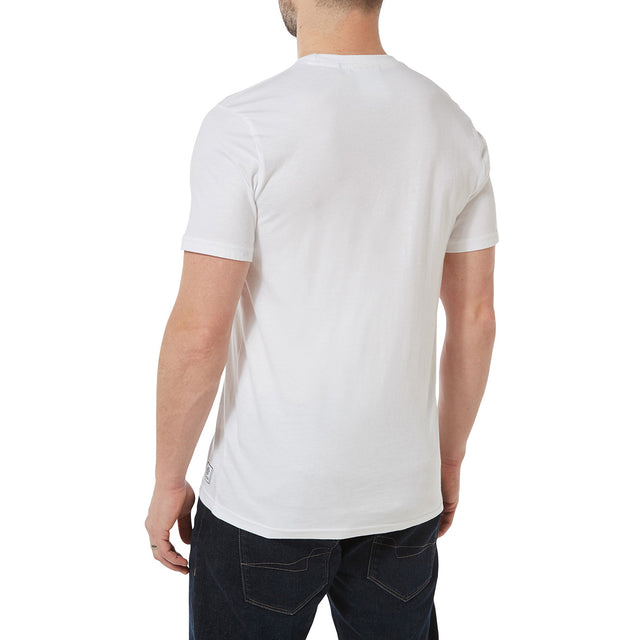 Honley Mens T-Shirt - White image 3