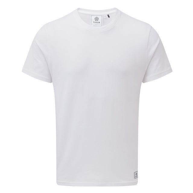 Honley Mens T-Shirt - White image 1