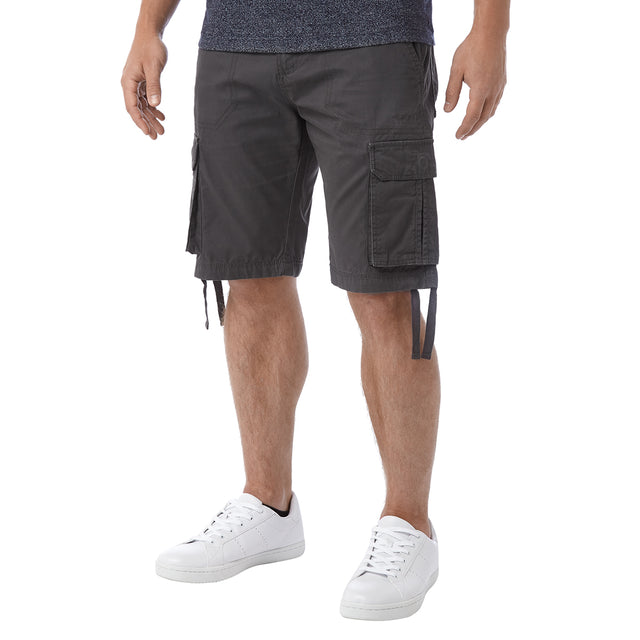 Hoyland Mens Cargo Shorts - Thunder Grey image 2