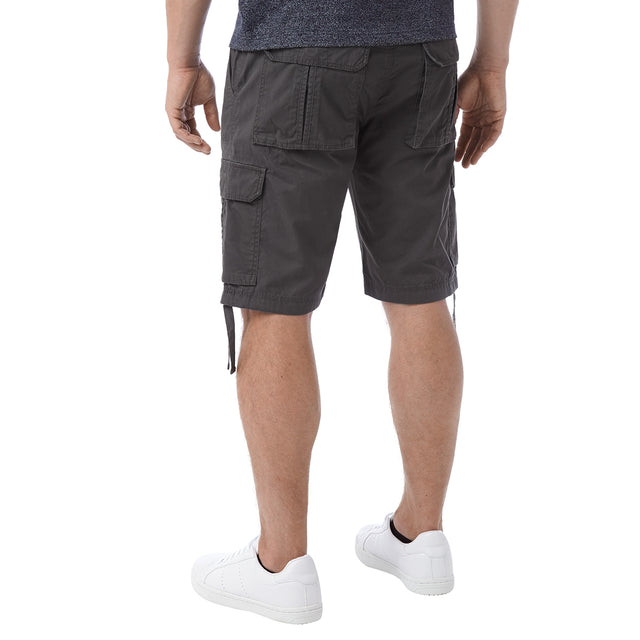 Hoyland Mens Cargo Shorts - Thunder Grey image 3