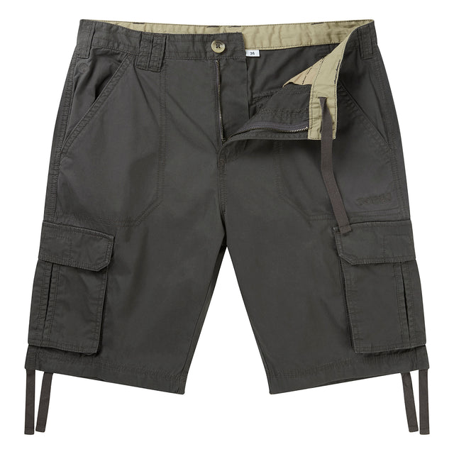Hoyland Mens Cargo Shorts - Thunder Grey image 1