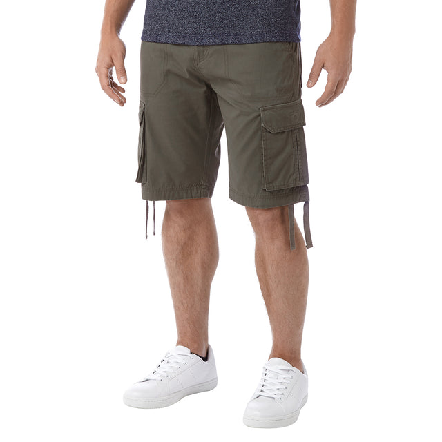 Hoyland Mens Cargo Shorts - Light Khaki image 2