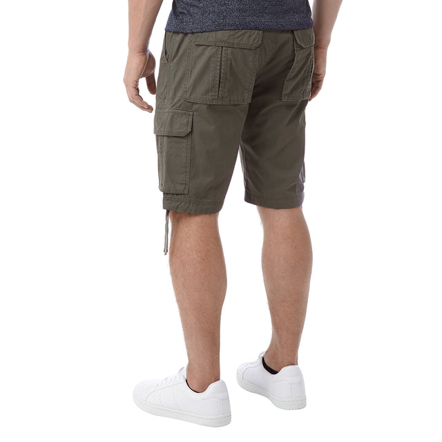 Hoyland Mens Cargo Shorts - Light Khaki image 3