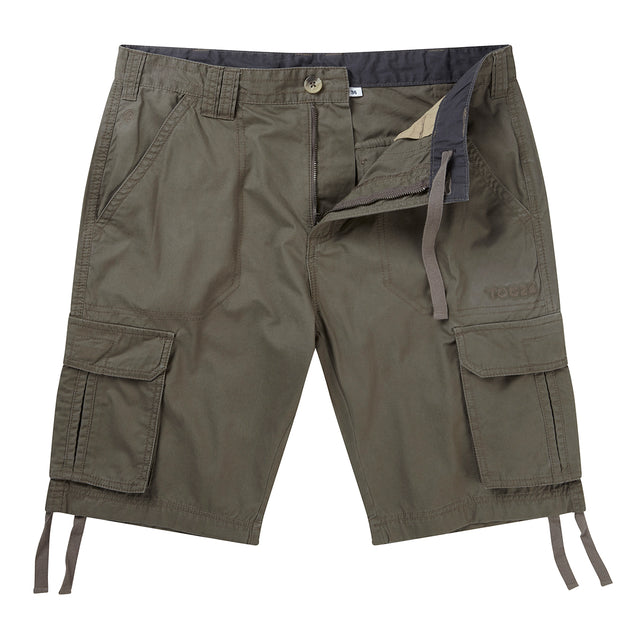 Hoyland Mens Cargo Shorts - Light Khaki image 1