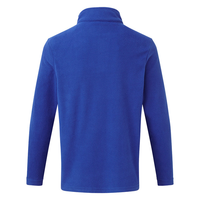 Humber Kids Microfleece Zipneck - Royal image 2
