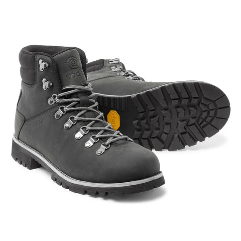 Ingleborough Unisex Vibram Waterproof Boots - Charcoal/Light Grey