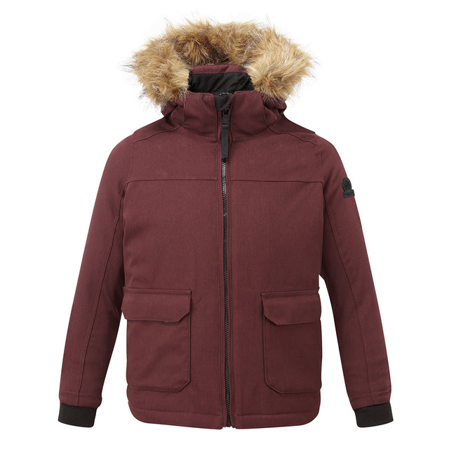 Julian Kids Waterproof Insulated Parka - Deep Port image 1