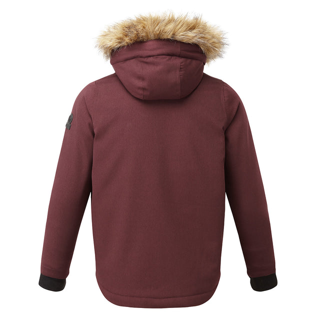 Julian Kids Waterproof Insulated Parka - Deep Port image 2