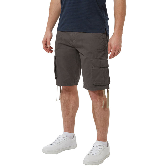 Kalahari Mens Cargo Shorts - Thunder Grey image 1