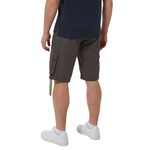 Kalahari Mens Cargo Shorts - Thunder Grey image 3