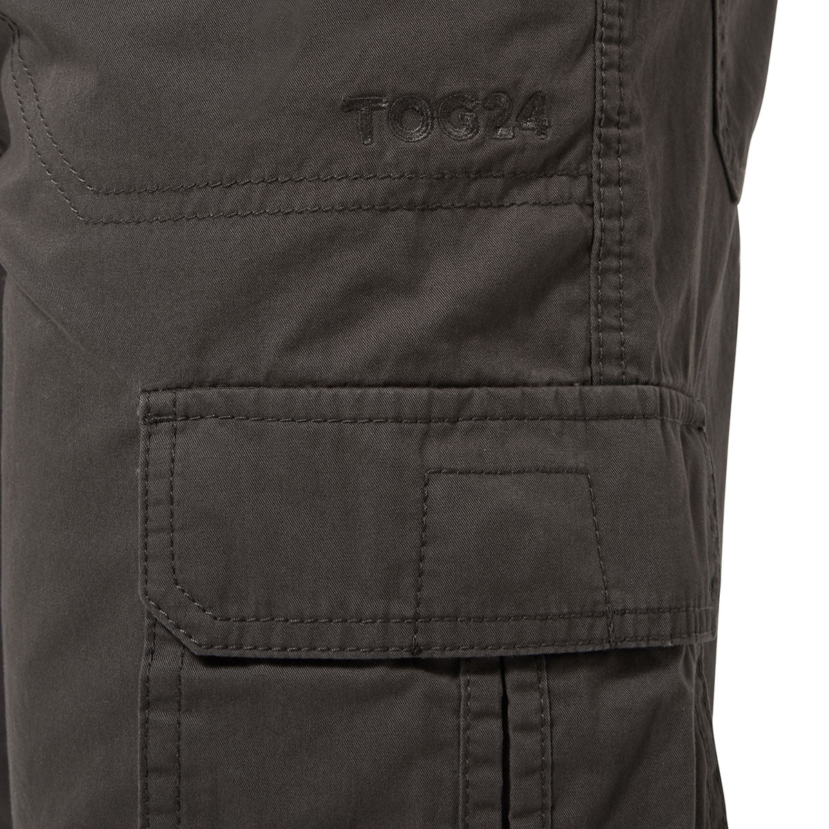 Kalahari Mens Cargo Shorts - Thunder Grey image 4