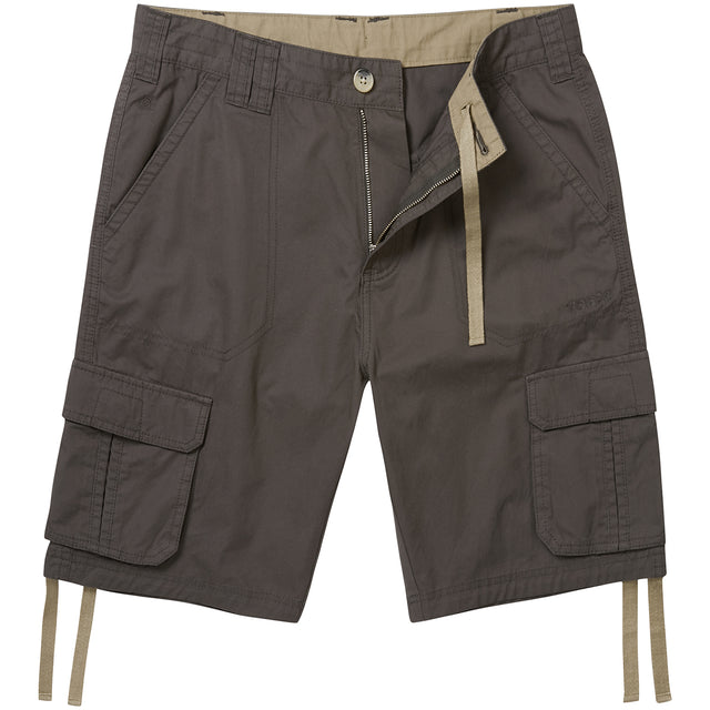 Kalahari Mens Cargo Shorts - Thunder Grey image 2