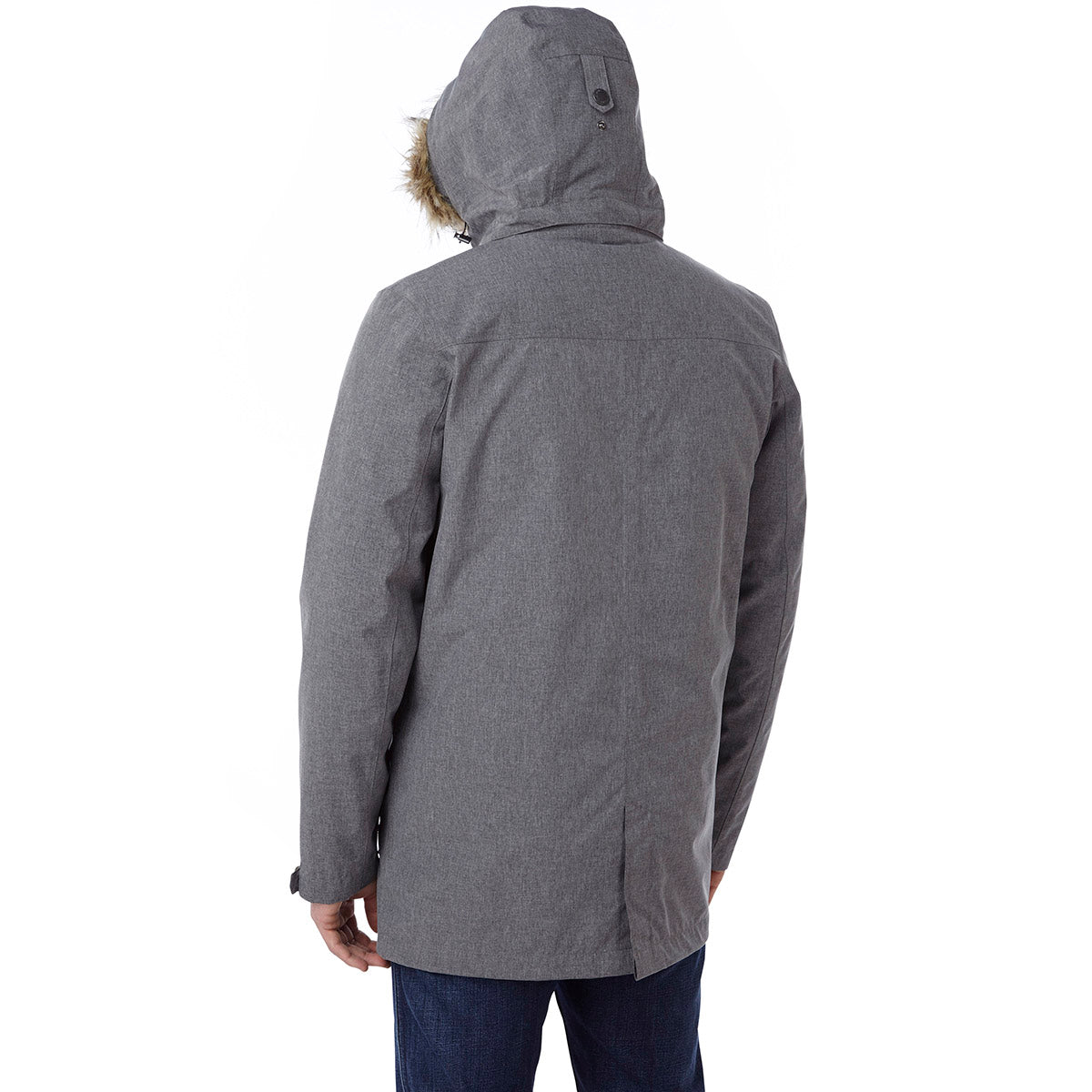 Kingston Mens Milatex 3-In-1 Jacket - Grey Marl image 4