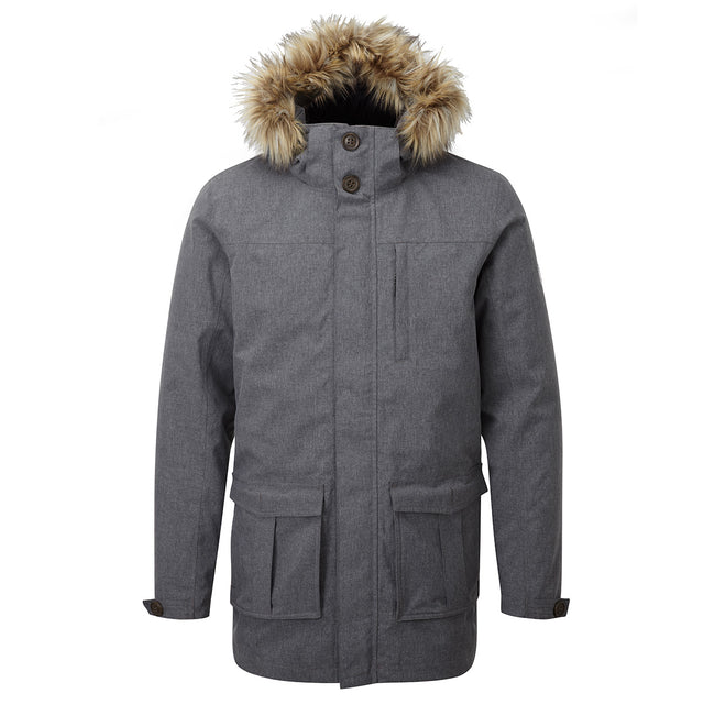 Kingston Mens Milatex 3-In-1 Jacket - Grey Marl image 1