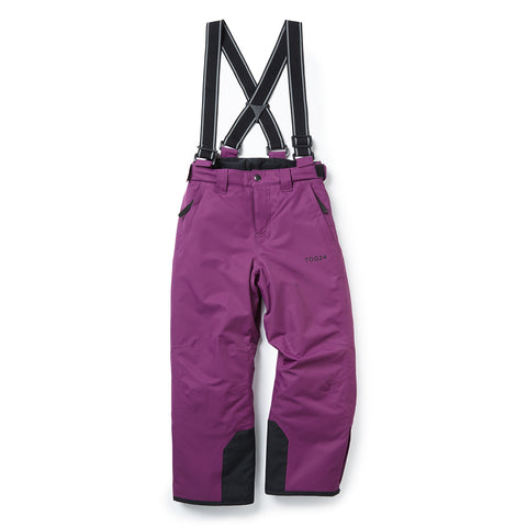 Knot Kids Waterproof Insulated Ski Pants - Grape