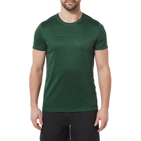 Lambert Mens Performance T-Shirt - Forest Green