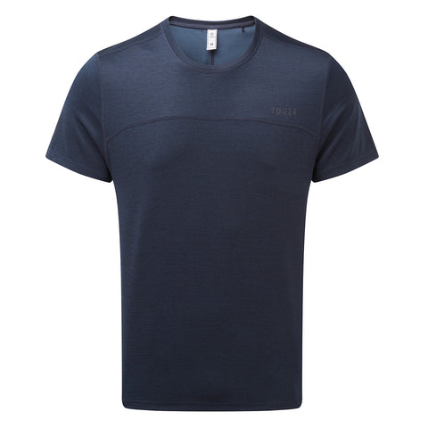 Lambert Mens Performance T-Shirt - Naval Blue