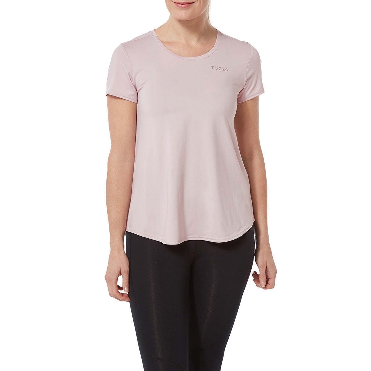 Lawson Womens Performance T-Shirt - Chalk Pink