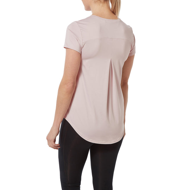 Lawson Womens Performance T-Shirt - Chalk Pink image 3