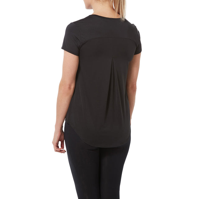 Lawson Womens Performance T-Shirt - Black image 3