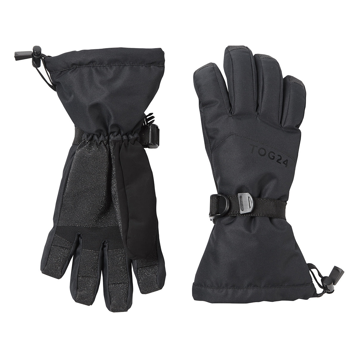 Lockton Waterproof Ski Gloves - Black