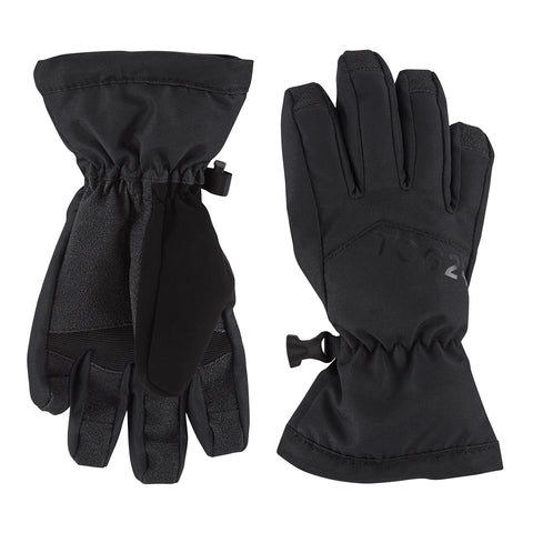 Lockton Kids Waterproof Ski Gloves - Black