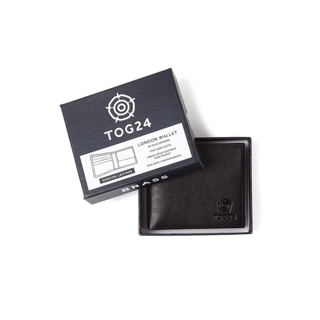 London Leather Wallet - Black image 2