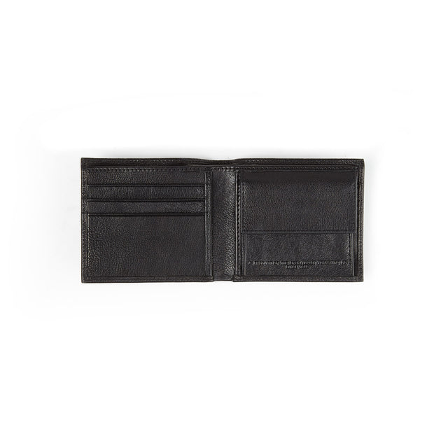 London Leather Wallet - Black image 3