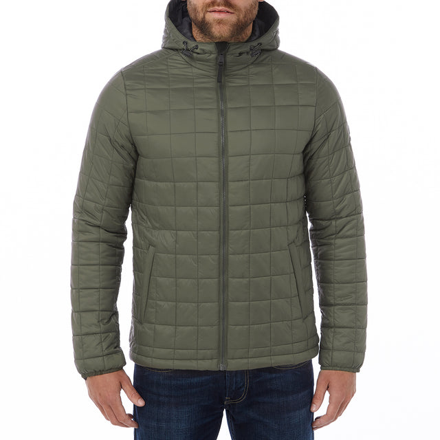 Loxley Mens TCZ Thermal Jacket - Dark Khaki image 2