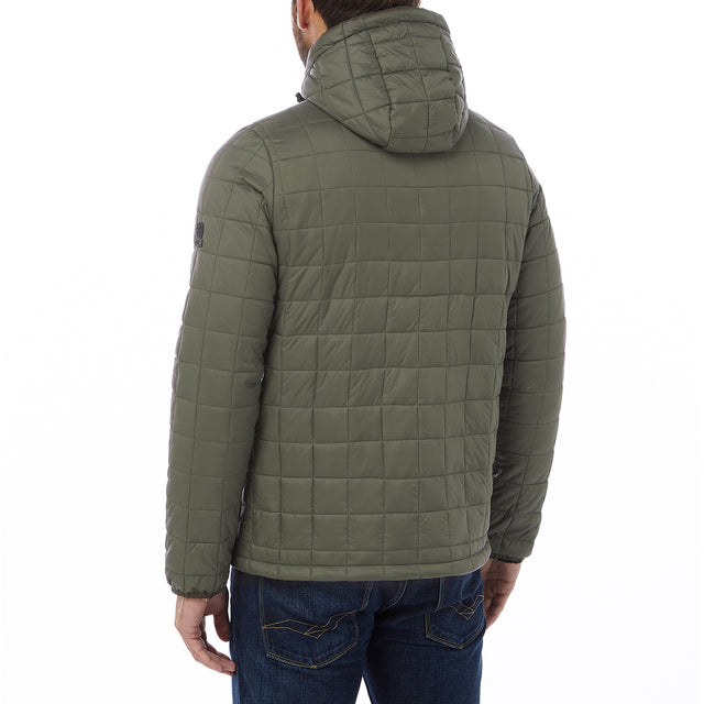 Loxley Mens TCZ Thermal Jacket - Dark Khaki image 3