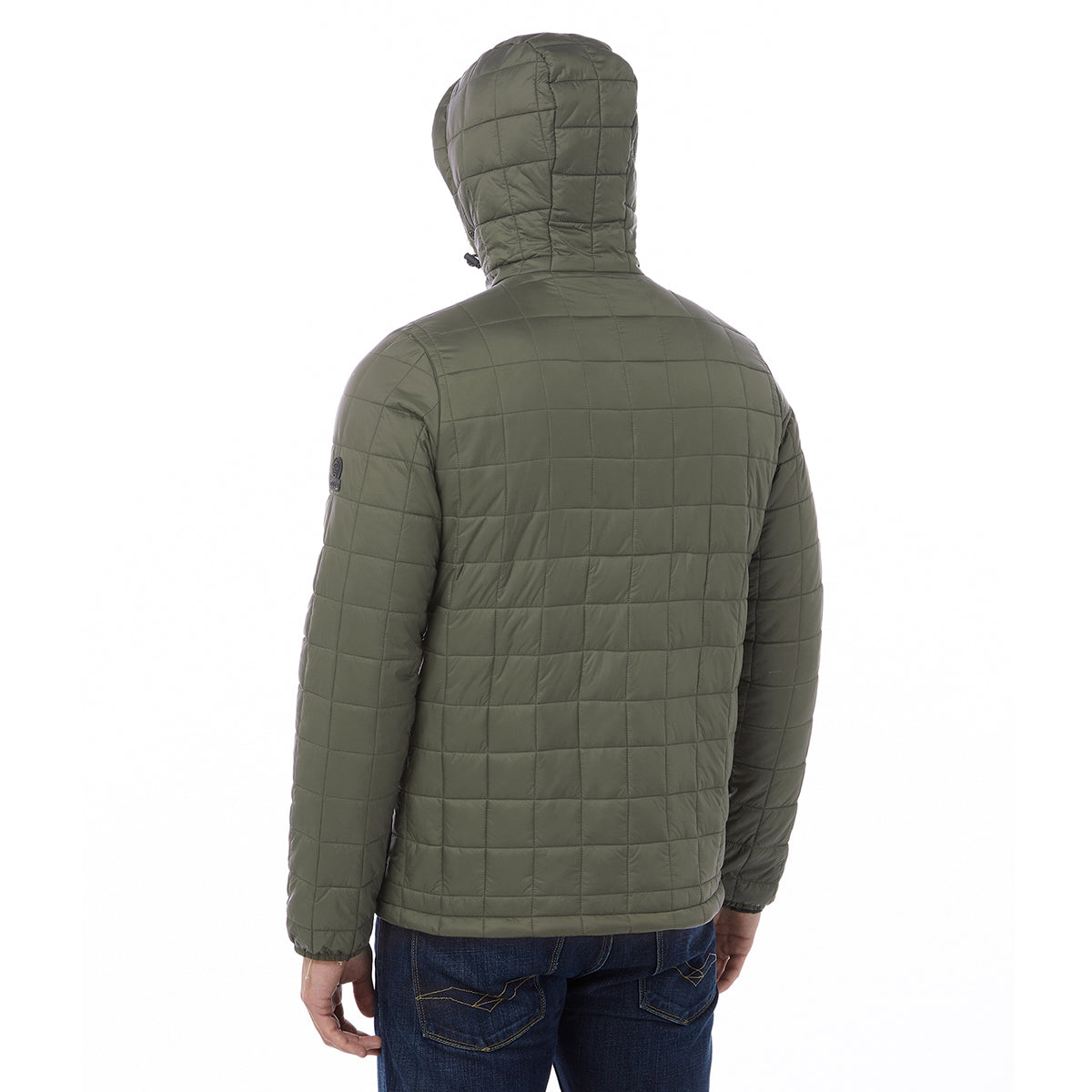 Loxley Mens TCZ Thermal Jacket - Dark Khaki image 4