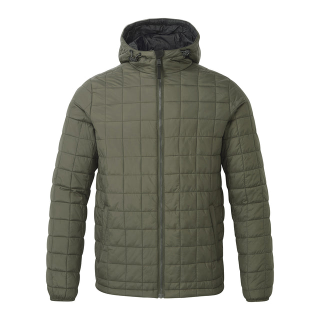 Loxley Mens TCZ Thermal Jacket - Dark Khaki image 1