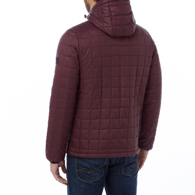 Loxley Mens TCZ Thermal Jacket - Deep Port image 3