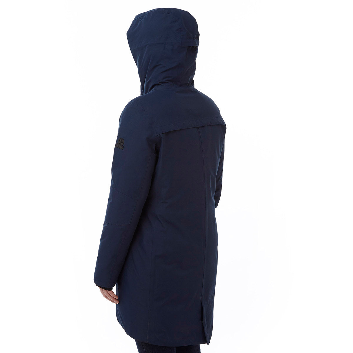 Luxe Womens Milatex/Down Jacket - Navy image 4
