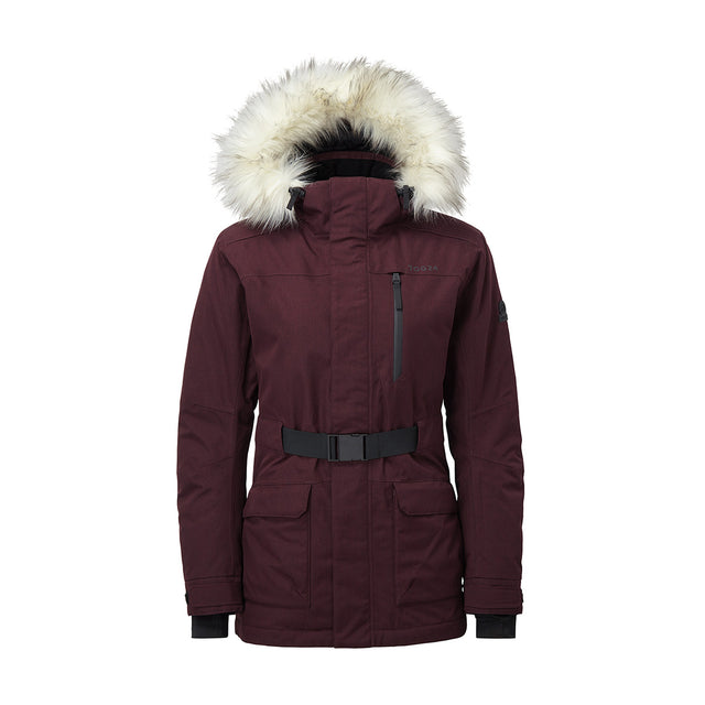 Magna Womens Insulated Ski Jacket - Deep Port Marl image 1