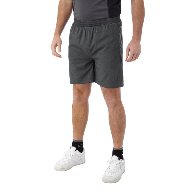 Marathon Mens Performance Shorts - Grey Marl image 2