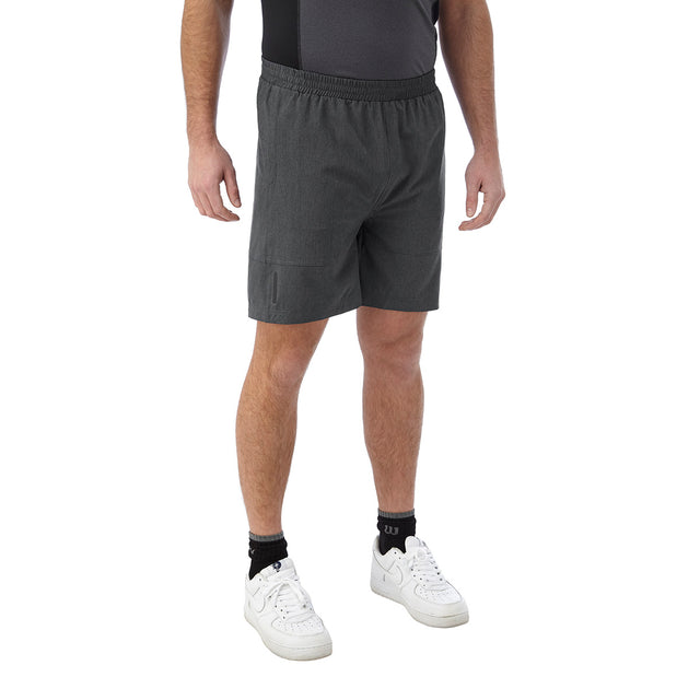 Marathon Mens Performance Shorts - Grey Marl image 3