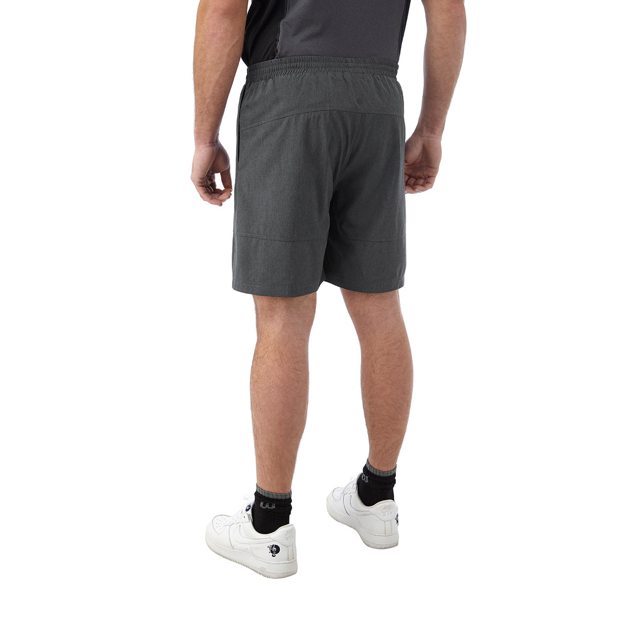 Marathon Mens Performance Shorts - Grey Marl image 4