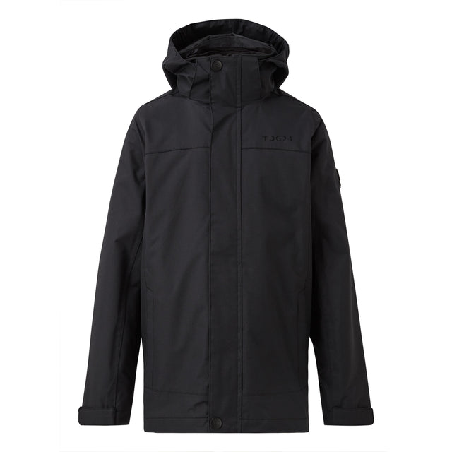 Marshall Kids Waterproof 3-In-1 Jacket - Black image 1